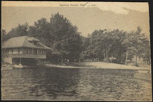 Boat House, Halifax Beach, Halifax, Massachusetts