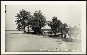 Between the lakes, Halifax, Massachusetts