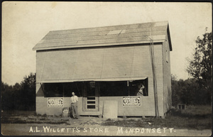 A. L. Willett's Store, Monponsett, Halifax, Massachusetts