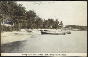 Along the Shore, West Lake, Monponsetts, Halifax, Massachusetts