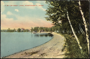 Bit of West Lake, Monponsett, Halifax, Massachusetts