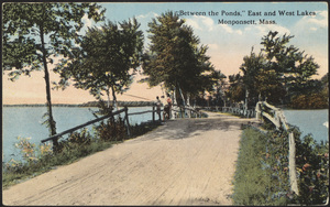 Between the ponds, East and West Lakes, Monponsett, Halifax, Massachusetts
