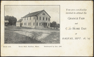 Holmes Public Library (Halifax)  Postcard Collection