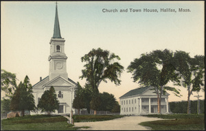 Church and Town House, Halifax, Massachusetts