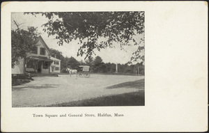 Town Square and General Store, Halifax, Massachusetts