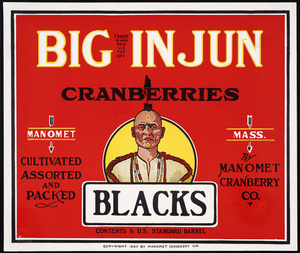 Big Injun Cranberries
