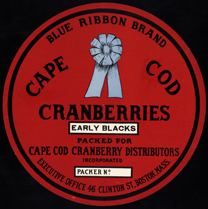 Blue Ribbon Brand Early Blacks