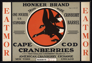 Carver Public Library Cranberry Labels