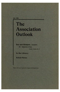 The Association Outlook (vol. 7 no. 10), July, 1898