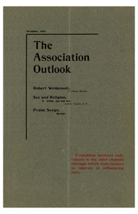 The Association Outlook (vol. 7 no. 2), November, 1897