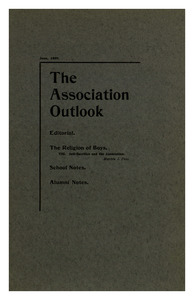 The Association Outlook (vol. 8 no. 8), June, 1899