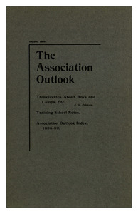 The Association Outlook (vol. 8 no. 10), August, 1899