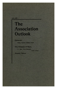 The Association Outlook (vol. 8 no. 6), April, 1899