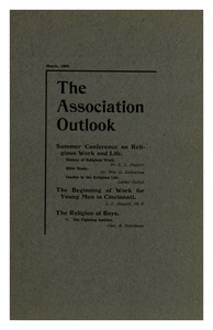 The Association Outlook (vol. 8 no. 5), March, 1899