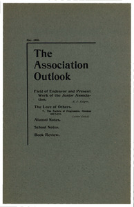 The Association Outlook (vol. 9 no. 7), May, 1900