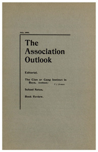 The Association Outlook (vol. 9 no. 9), July, 1900