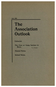 The Association Outlook (vol. 9 no. 8), June, 1900