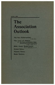 The Association Outlook (vol. 9 no. 3), January, 1900