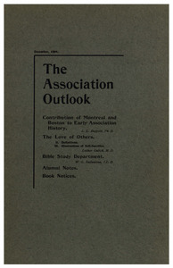 The Association Outlook (vol. 9 no. 2), December, 1899