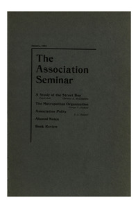 The Association Seminar (vol. 10 no. 3), January, 1902
