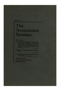 The Association Seminar (vol. 10 no. 5), March, 1902