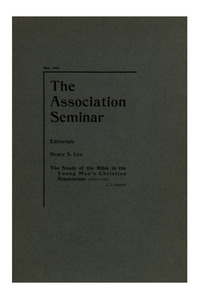 The Association Seminar (vol. 10 no. 7), May, 1902