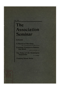 The Association Seminar (vol. 11 no. 8), May, 1903