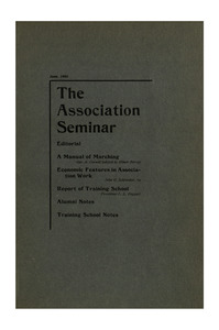 The Association Seminar (vol. 11 no. 9), June, 1903