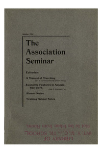 The Association Seminar (vol. 12 no. 01), October, 1903