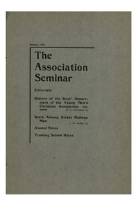 The Association Seminar (vol. 12 no. 04), January, 1904