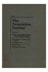 The Association Seminar (vol. 12 no. 07), March, 1904