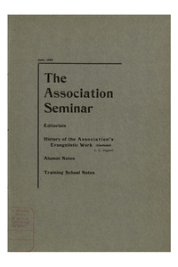 The Association Seminar (vol. 12 no. 09), June, 1904