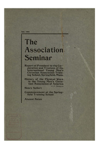 The Association Seminar (vol. 12 no. 10), July, 1904
