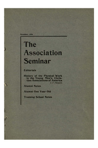 The Association Seminar (vol. 13 no. 02), November, 1904