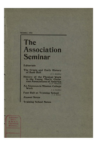 The Association Seminar (vol. 13 no. 03), December, 1904