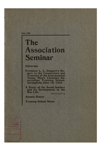 The Association Seminar (vol. 13 no. 09), June, 1905