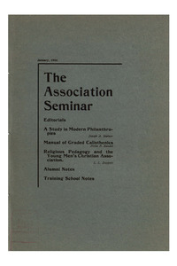 The Association Seminar (vol. 14 no. 4), January, 1906