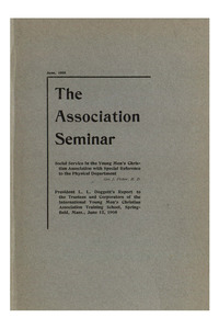 The Association Seminar (vol. 16 no. 9), June, 1908