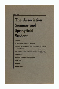The Association Seminar (vol. 17 no. 6), March, 1909