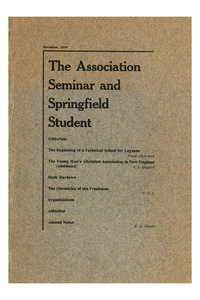 The Association Seminar (vol. 18 no. 2), November, 1909