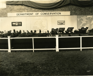 Department of Conservation Forest Nurseries exhibit booth