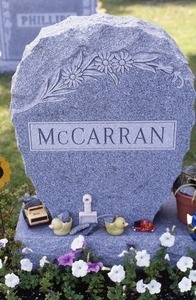 East Derry (New Hampshire) gravestone: McCarren