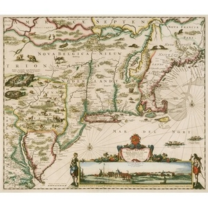 Early American and European Maps