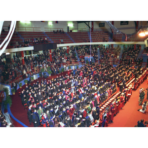 The audience at the inauguration of President Freeland