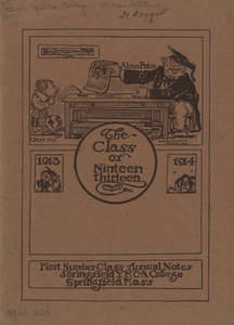 First Annual Booklet for the Class of 1913 (October 1914)