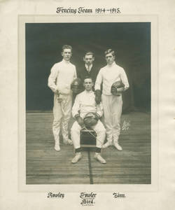 1914-1915 Springfield College Fencing Team