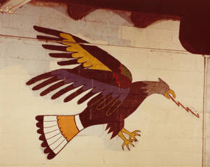 Wo Peen's Painting of the Eagle