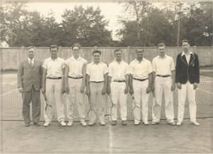 1930 Men's Tennis Team