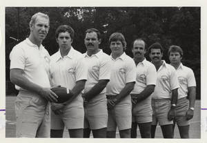 1981 Men's Football Coaches