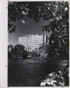 International Hall from Massasoit Lake
